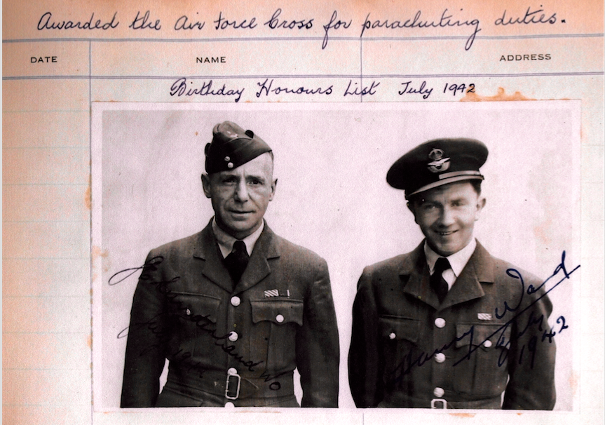 WO JOE SUNDERLANDFLT.LT HARRY WARD E ss