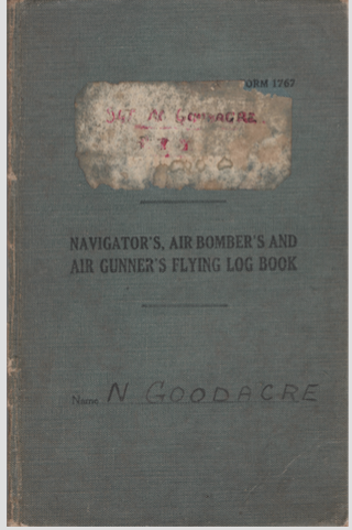 GOODACRE LOGBOOK COVER ss