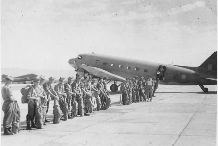 CHAK 1945 AIR EX EMPLANE