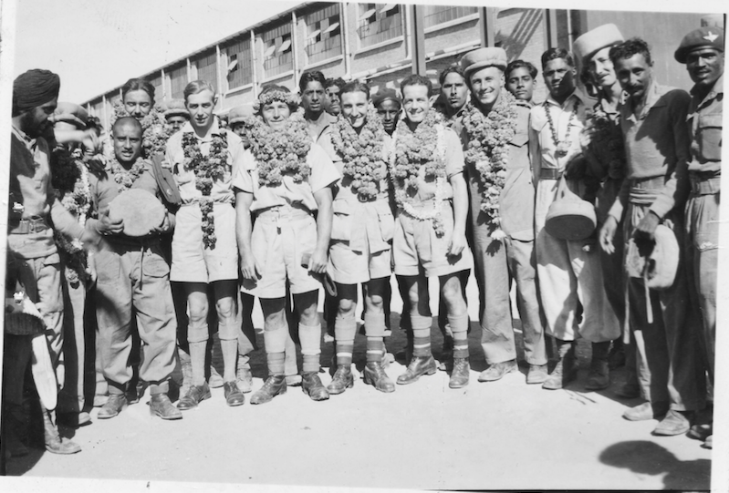 STAFF GARLANDS NOV 1945 ENH ss